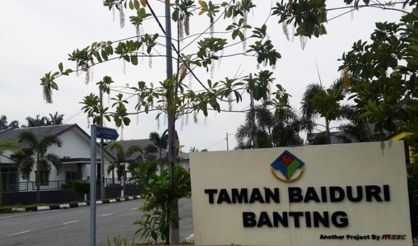 Selangor – BantingTaman Baiduri Banting
