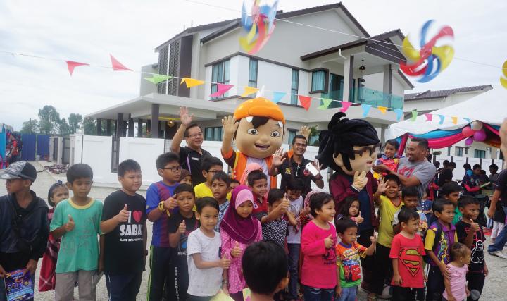 Taman Sg Soi Jaya 2 - Open House with Boboiboy