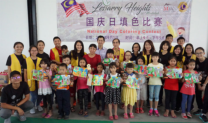 Lestarry Heights - National Day Colouring Contest Sep 2018