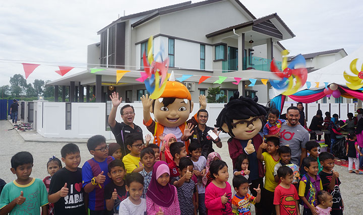 Taman Sg Soi Jaya 2 - Open House with Boboiboy