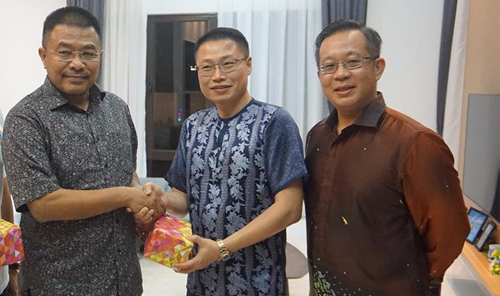 Lestarry Heights  - Lawatan YB. Dato' Sri Haji Mohd. Sharkar